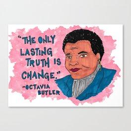 Octavia Butler Canvas Print