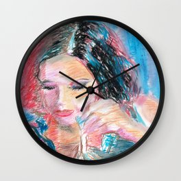 Chouchou 9 Wall Clock