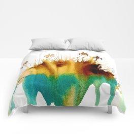 Coffee Island Comforters