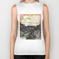 arizona Biker Tanks featuring Arizona by Ursula Rodgers