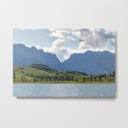 First Lake & Mount Blackburn, Donoho Basin Metal Print