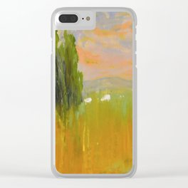 Northfront Park Clear iPhone Case