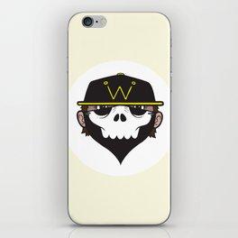 A Wicked Gentleman iPhone Skin