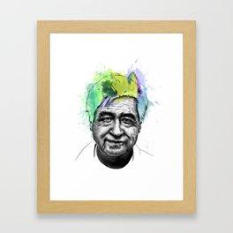 Cesar Chavez Framed Art Print