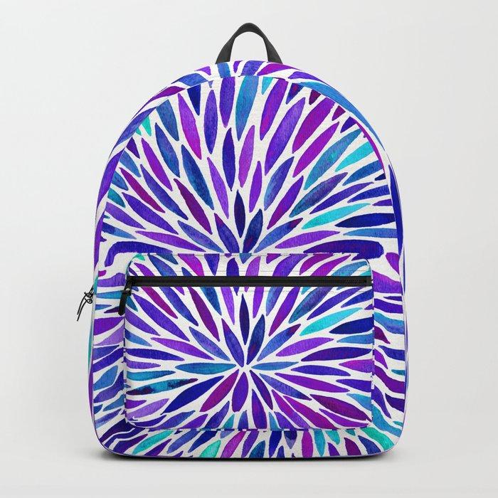 Lavender Burst Backpack