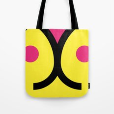 face 3 Tote Bag