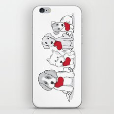 Valentine's Day Dogs iPhone & iPod Skin