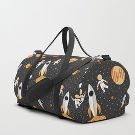 Astronauts in Space Duffle Bag