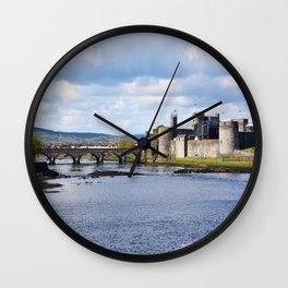 King John's Castle Wall Clock