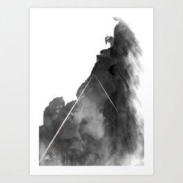 You're a mountain Art Print