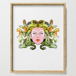 Medusa The Gorgon Serving Tray