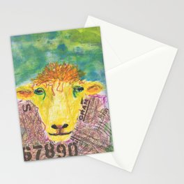 Worldy Sheep Stationery Cards