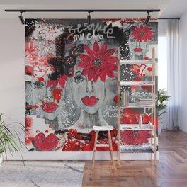 Besame muchooooooo Wall Mural
