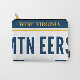 West Virginia License Plate Carry-All Pouch