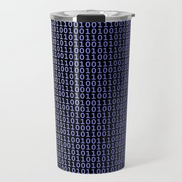 Binary Blue Travel Mug