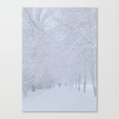 Path (Winter) Canvas Print