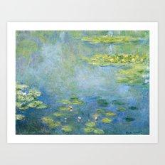 Water Lilies 1906 by Claude Monet Art Print
