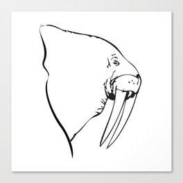 I Am The Walrus Too Canvas Print