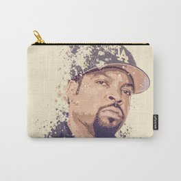 Ice Cube splatter painting Carry-All Pouch