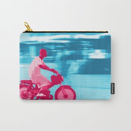 Motorbike Guy Carry-All Pouch