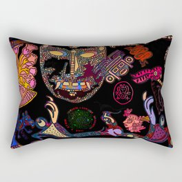 Mexican Mix Rectangular Pillow