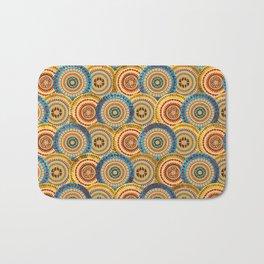 Circular Ethnic  pattern Bath Mat
