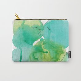 Abstract Love Making - Watercolor by Mackenna Morse Carry-All Pouch