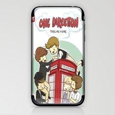 Take Me Home Cartoon One Direction iPhone & iPod Skin