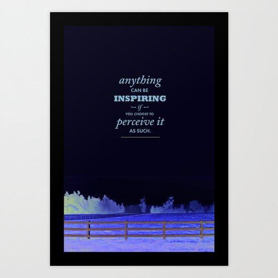 Inspirational pieces Art Print