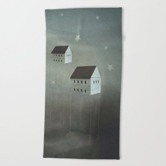the architecture of dreams Beach Towel
