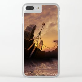 A Ship for All Destinations Clear iPhone Case