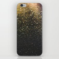 sparkle iPhone & iPod Skins featuring Sparkle by Jane Lacey Smith