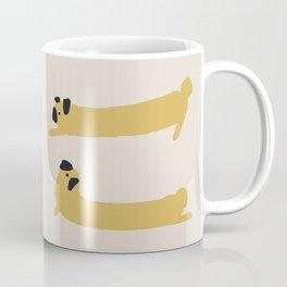 Stretching Pug Coffee Mug