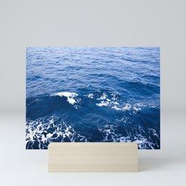 Waves adriatic Mini Art Print