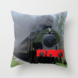Lord Phil on the pull Throw Pillow