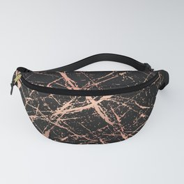 Copper Splatter 091 Fanny Pack