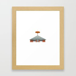 Hot Dog Shoppe - Warren Ohio 100 Framed Art Print