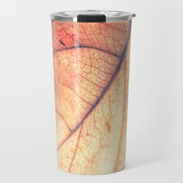 Abstract Leaf 3 Travel Mug