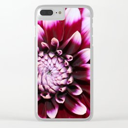 Hannah's Flower #1 Clear iPhone Case