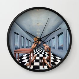 Ennui Wall Clock