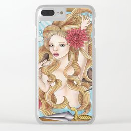 Anderson's Mermaid Clear iPhone Case