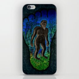 Big Foot Woodsman iPhone Skin