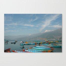 Phewa Lake Canvas Print