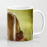 luke hemmings Mugs featuring luke by marie grady palcic
