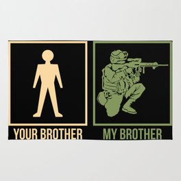 ARMY: Your Brother My Brother Rug