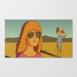 SUCKER Canvas Print