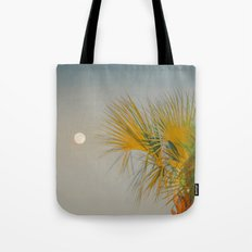 Moon and Palm Tote Bag