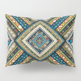 A Difficult Pattern Pillow Sham