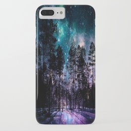One Magical Night... teal & purple iPhone Case