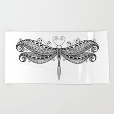 Dragonfly dreams Beach Towel
